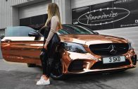 Family-do-21st-Birthday-Rose-Gold-Mercedes-Car-Reveal