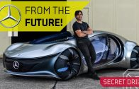 DRIVING the Future Mercedes with NO Steering Wheel!! Vision AVTR Review